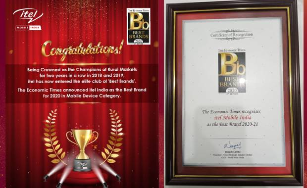 The Economic Times - Best Brands Awards 2020